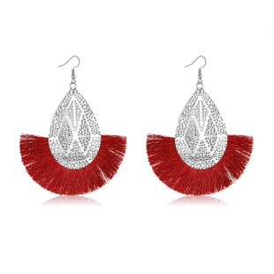 Alloy Fashion Tassel earring  (61189553) NHLP1239-61189553's discount tags