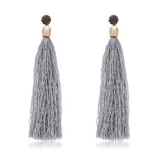 Alloy Fashion Tassel earring  (61189545) NHLP1244-61189545's discount tags