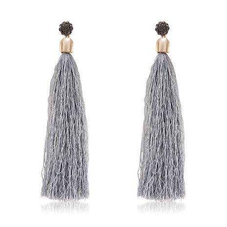 Alloy Fashion Tassel earring  (61189545) NHLP1244-61189545's discount tags