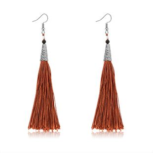 Alloy Fashion Tassel earring  (61189549) NHLP1245-61189549's discount tags
