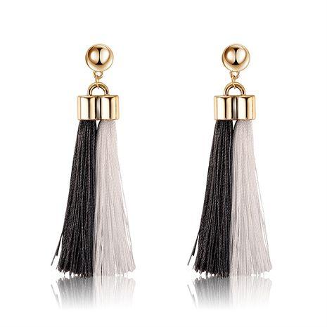Alloy Fashion Tassel earring  (61189543) NHLP1243-61189543's discount tags