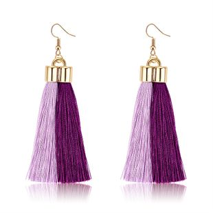 Alloy Fashion Tassel earring  (61189542) NHLP1249-61189542's discount tags