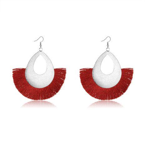 Alloy Fashion Tassel earring  (61189554) NHLP1252-61189554's discount tags