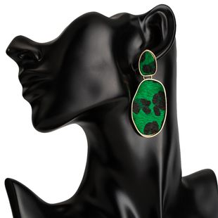 Alloy Fashion Geometric earring  (green) NHJE2029-green's discount tags