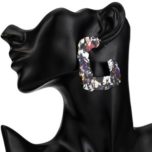 Alloy Fashion Geometric earring  (Dark color) NHJE2037-Dark-color's discount tags