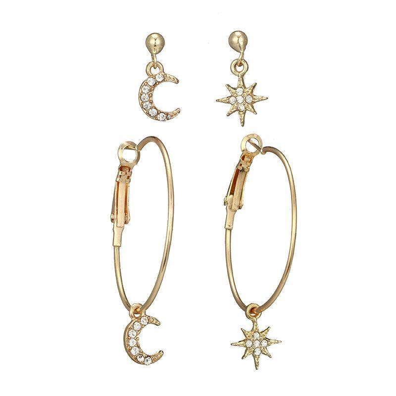 Alloy Fashion Geometric earring  (Alloy) NHGY2626-Alloy
