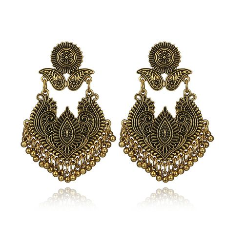 Alloy Bohemia Geometric earring  (Alloy) NHGY2627-Alloy's discount tags