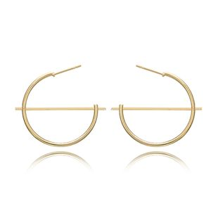 Alloy Simple Geometric earring  (Alloy) NHGY2630-Alloy's discount tags