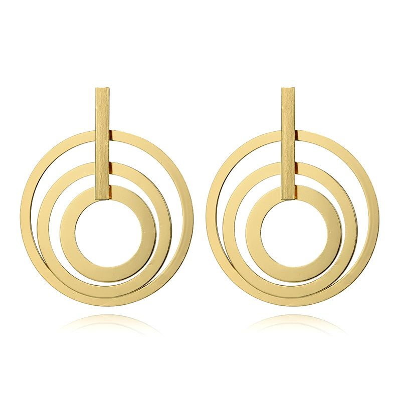 Alloy Fashion Geometric earring  (Alloy) NHGY2633-Alloy