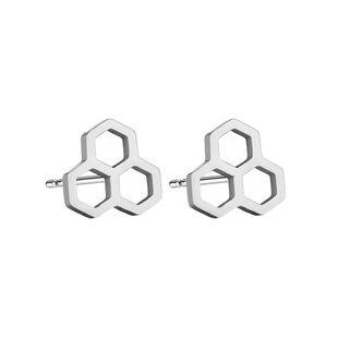 Titanium&Stainless Steel Korea Geometric earring  (Alloy) NHBQ1843-Alloy's discount tags