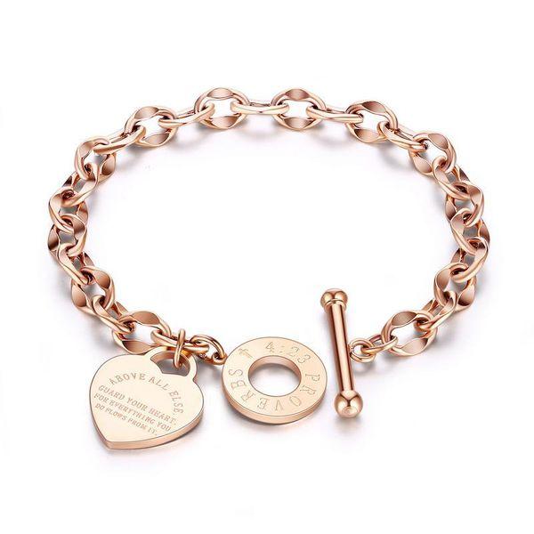 Titanium&Stainless Steel Fashion Geometric bracelet  (Steel color) NHOP3034-Steel-color