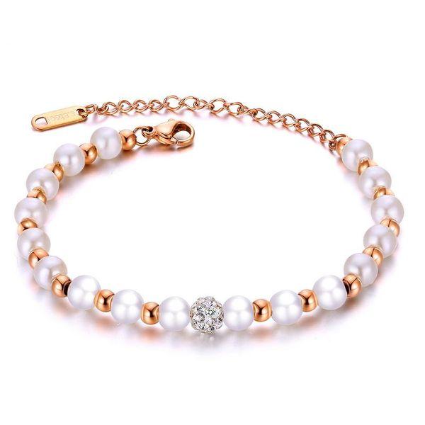Titanium&Stainless Steel Korea Geometric bracelet  (Steel color) NHOP3053-Steel-color