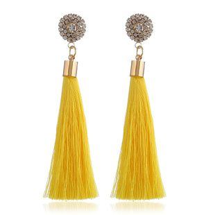 Alloy Fashion Flowers earring  (yellow) NHVA5268-yellow's discount tags