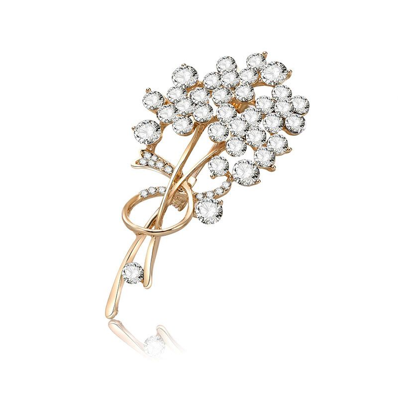 Alloy Fashion Flowers brooch  66187126 NHXS193666187126
