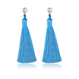 Alloy Fashion Tassel earring  (61189523A) NHXS1960-61189523A's discount tags