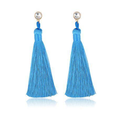 Alloy Fashion Tassel earring  (61189523A) NHXS1960-61189523A's discount tags