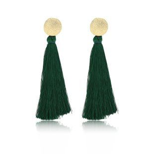 Alloy Fashion Tassel earring  (61189525A) NHXS1962-61189525A's discount tags