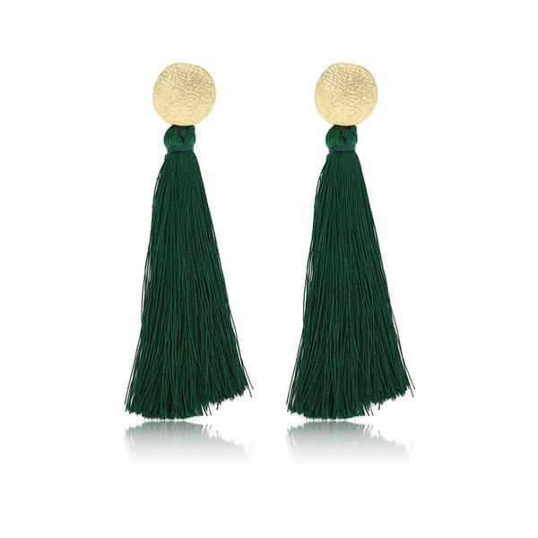 Alloy Fashion Tassel earring  (61189525A) NHXS1962-61189525A