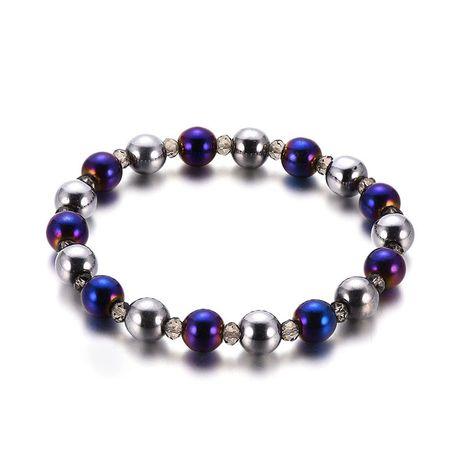 Titanium&Stainless Steel Fashion Geometric bracelet  (61186314) NHXS2006-61186314's discount tags
