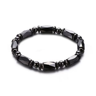 Titanium&Stainless Steel Fashion Geometric bracelet  (61186323) NHXS2008-61186323's discount tags