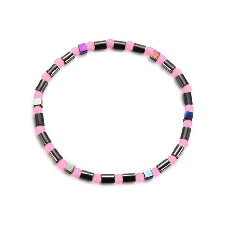 Titanium&Stainless Steel Fashion Geometric Anklet  (61186309) NHXS2014-61186309's discount tags
