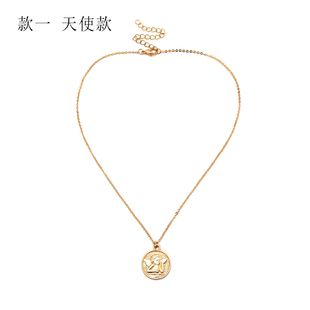 Alloy Vintage Geometric necklace  (Alloy 2094) NHXR2593-Alloy-2094's discount tags