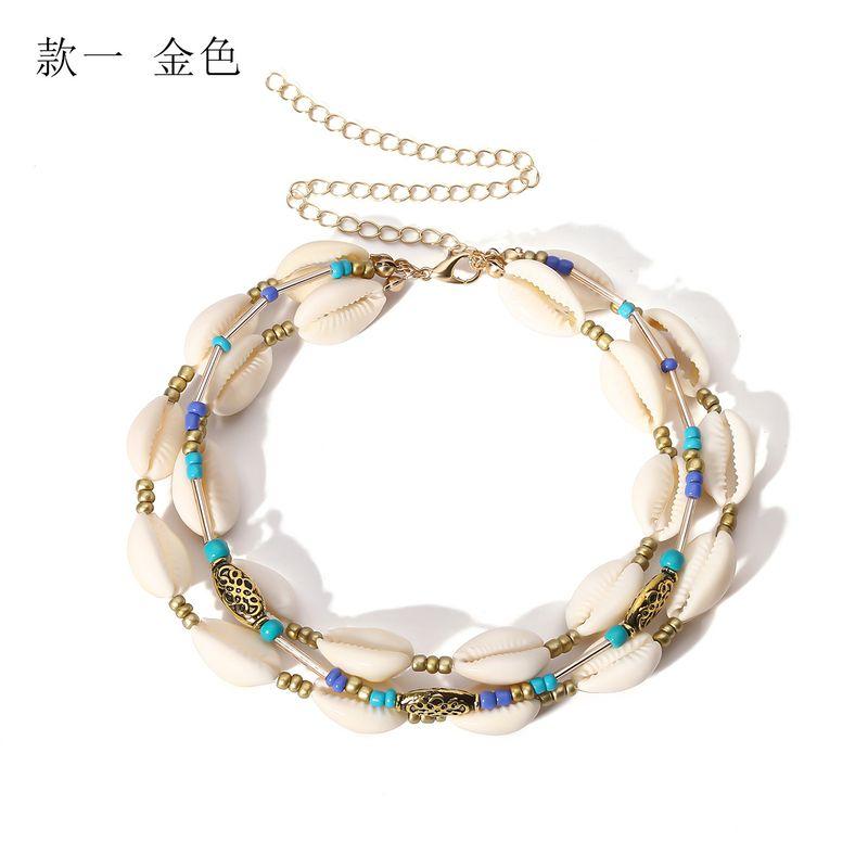 Alloy Bohemia Geometric necklace  One alloy 2059 NHXR2595Onealloy2059