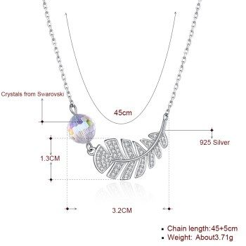 Platinum Plated  Necklaces NHKL13402