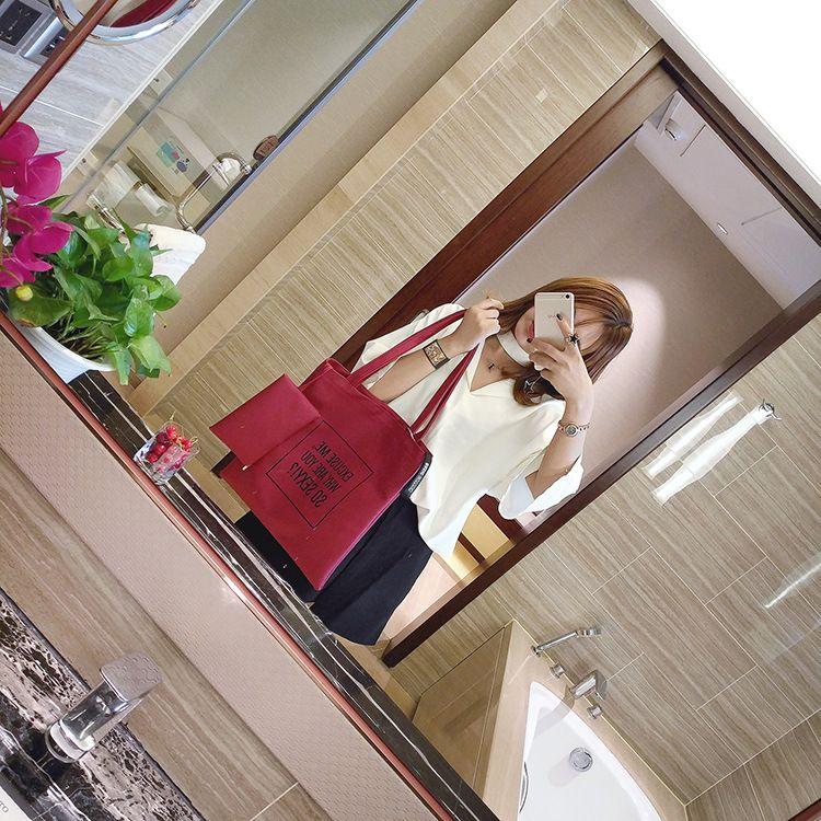 PU Fashion  Shoulder bag  (red) NHXC0867-red