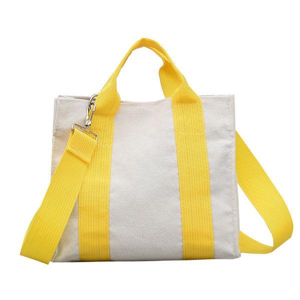 Polyester Korea  handbag  (yellow) NHXC0876-yellow
