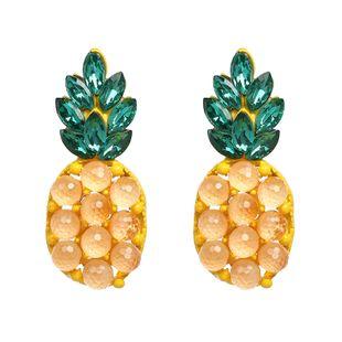 Imitated crystal&CZ Fashion Geometric earring  (51194) NHJJ5187-51194's discount tags