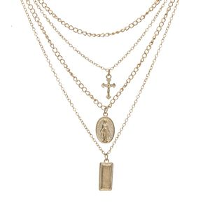 Alloy Fashion Cross necklace  (Alloy) NHBQ1823-Alloy's discount tags