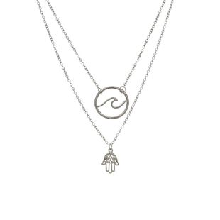 Alloy Fashion Geometric necklace  (Alloy) NHBQ1824-Alloy's discount tags