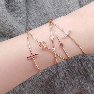 Alloy Fashion Geometric bracelet  (Alloy) NHBQ1825-Alloy's discount tags