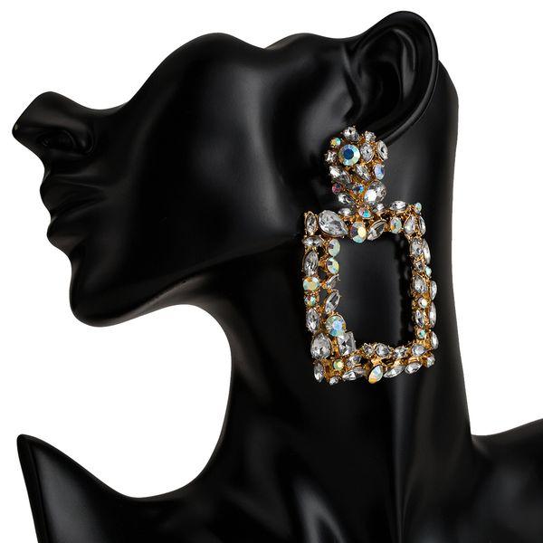 Alloy Fashion Geometric earring  (white) NHJE1922-white