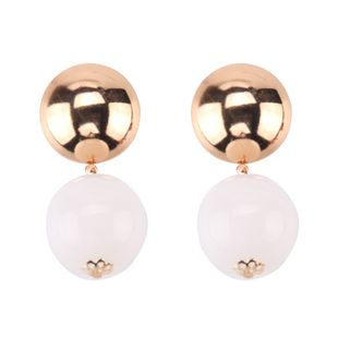 Acrylic Fashion Geometric earring  (white) NHJQ10762-white's discount tags