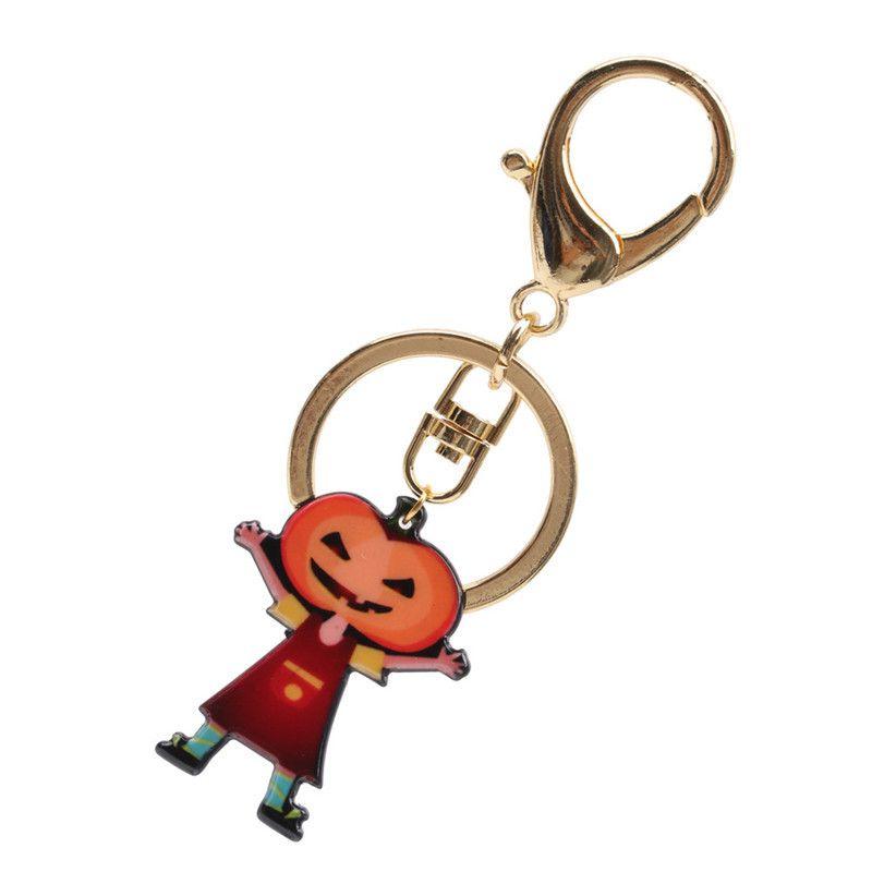 Alloy Fashion Geometric key chain  (Pumpkin boy) NHYL0301-Pumpkin-boy