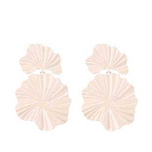 Alloy Fashion Geometric earring  (white) NHJQ10765-white's discount tags