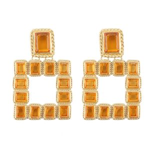 Alloy Fashion Geometric earring  (yellow) NHJQ10766-yellow's discount tags