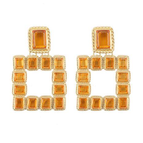 Alloy Fashion Geometric earring  (yellow) NHJQ10766-yellow's discount tags