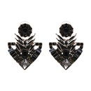 Alloy Fashion Geometric earring  black NHJJ5174black