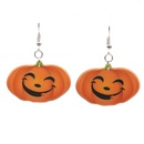 Acrylic Fashion Geometric earring  Big pumpkin earrings NHYL0298Bigpumpkinearrings