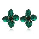 Alloy Simple Flowers earring  yellow NHGY2523yellow