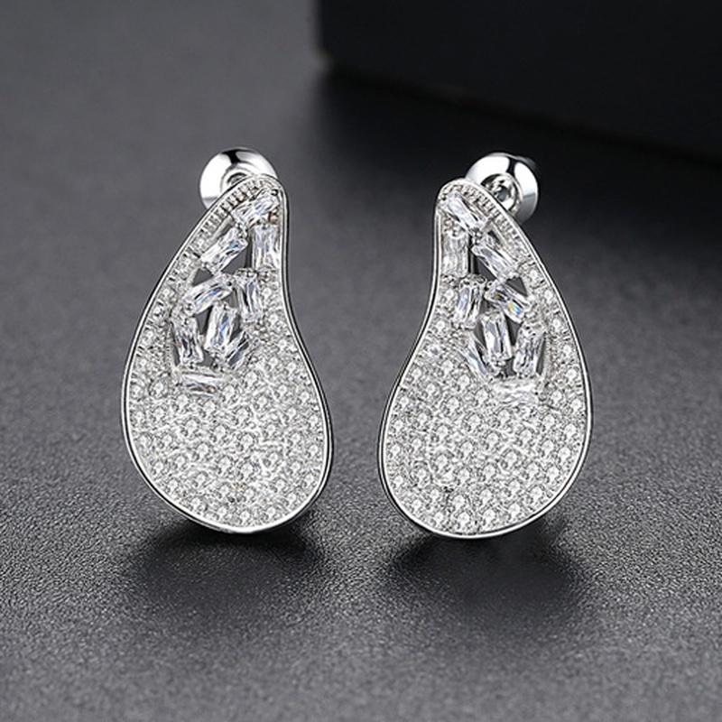 Alloy Korea Geometric earring  PlatinumT01A16 NHTM0412PlatinumT01A16