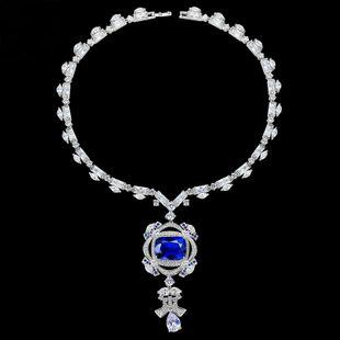 Alloy Bohemia Geometric necklace  (Platinum-T21D18) NHTM0418-Platinum-T21D18's discount tags