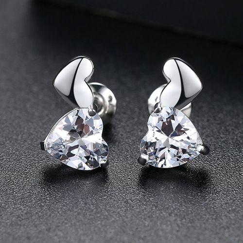 Alloy Korea Sweetheart earring  (Platinum-01E23) NHTM0431-Platinum-01E23