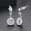 Alloy Korea Geometric earring  PlatinumT01D16 NHTM0424PlatinumT01D16