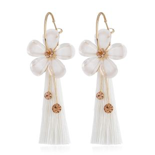 Alloy Fashion Flowers earring  (white) NHVA5158-white's discount tags