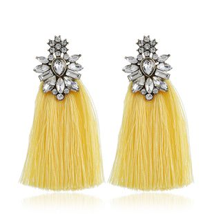Alloy Fashion Flowers earring  (yellow) NHVA5170-yellow's discount tags