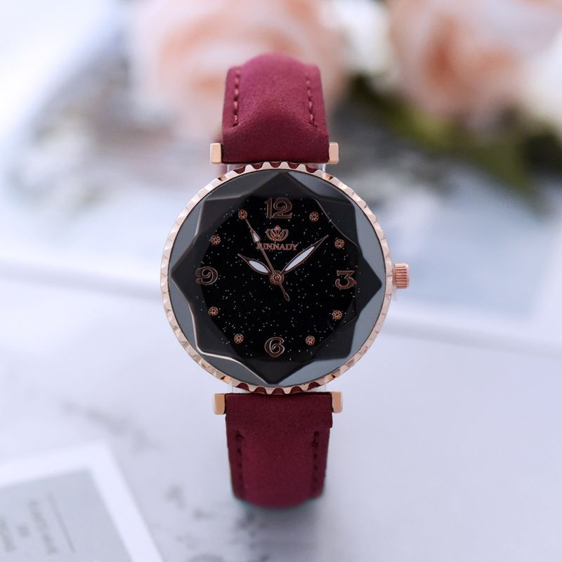 Alloy Fashion  Ladies watch  (red) NHHK1164-red